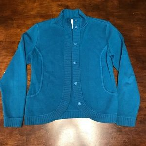Talbots knit jacket